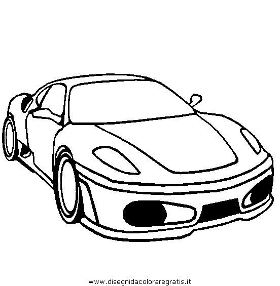 Dibujo Ferrari
