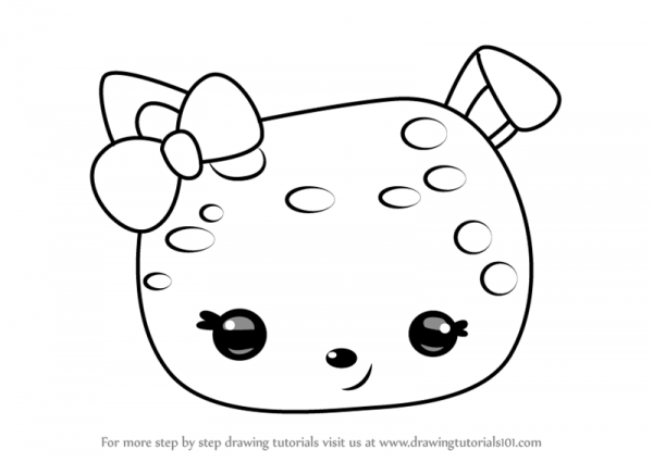 Learn How To Draw Confetti Jelly From Num Noms (num Noms) Step By