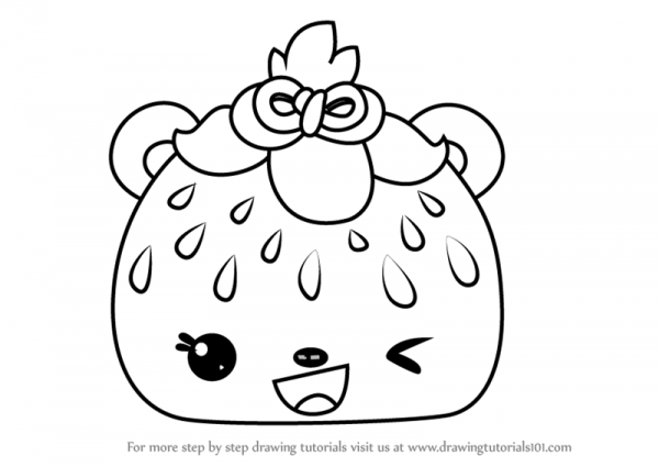 Learn How To Draw Sadie Seeds From Num Noms (num Noms) Step By