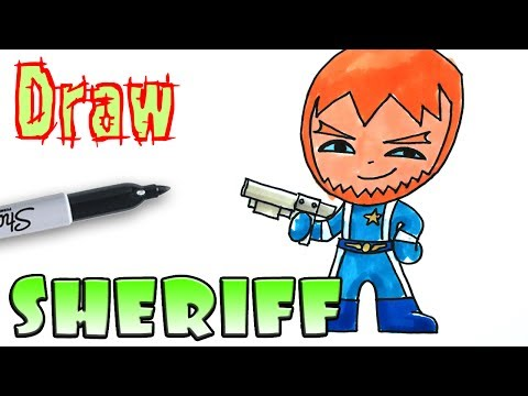 How To Draw The Sheriff