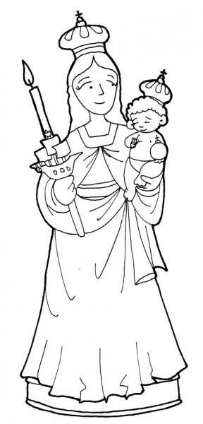 16 Imágenes De La Virgen María Auxiliadora Para Imprimir