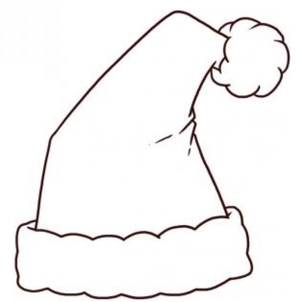 Cómo Dibujar El Sombrero De Santa Claus