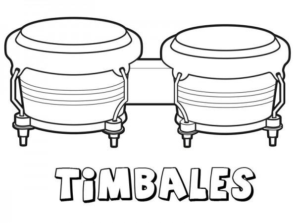 Instrumentos Musicales – Dibujos Para Colorear