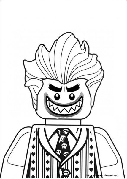 Dibujos De Lego Batman Para Colorear En Colorear Net