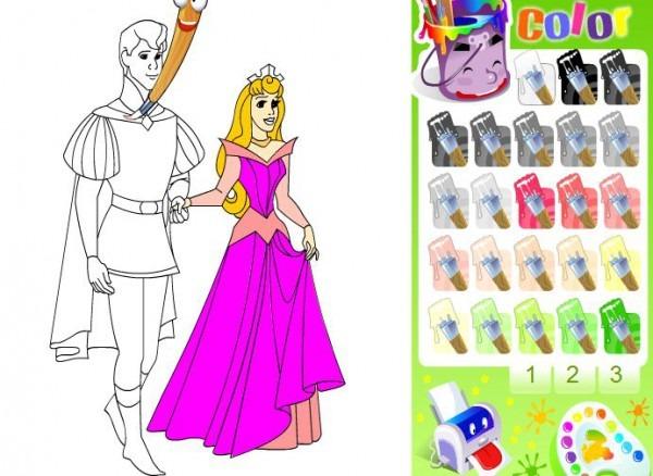Juegos De Colorear Princesas