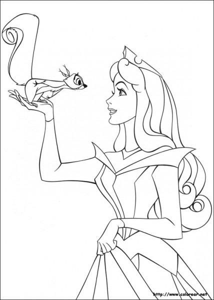 Dibujos De La Bella Durmiente Para Colorear En Colorear Net