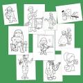 Dibujo Para Colorear De Profesiones Y Oficios