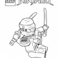 Dibujos De Lego Ninjago Para Colorear
