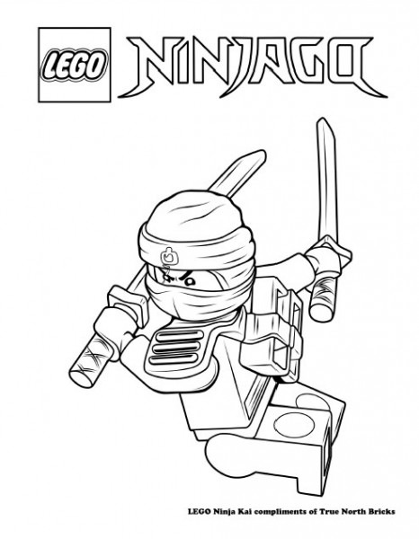 Lego Ninjago Para Imprimir Y Colorear
