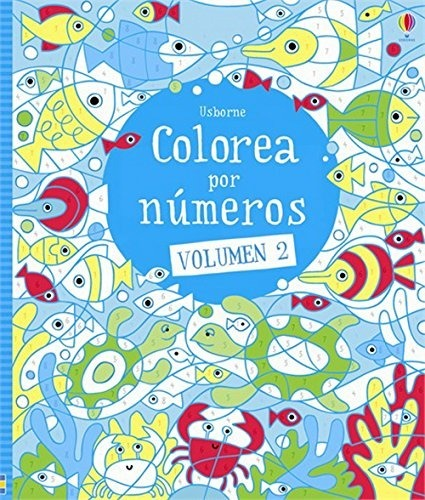 Libro Colorea Por Números  Vol  2