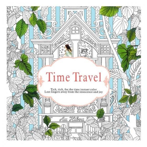 Aliexpress Com  Comprar Libros Para Colorear De Viaje En El Tiempo