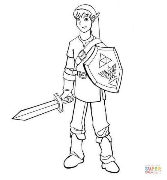 Dibujos De The Legend Of Zelda Para Colorear
