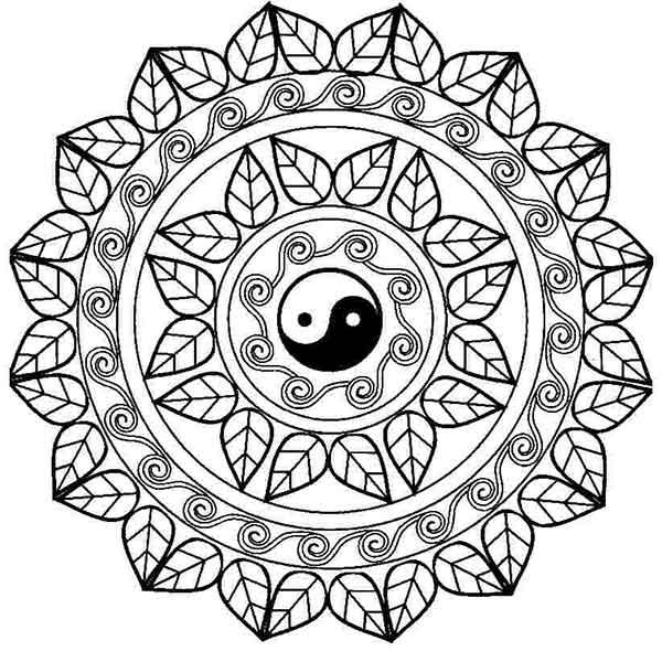 Mandalas Para Colorear » Imágenes De Mandalas Bonitas ✅
