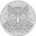 Mandalas De Numeros Para Colorear