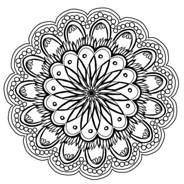 Mandalas Para Colorear E Imprimir