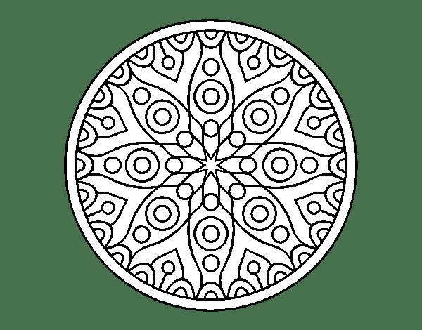 Dibujos Para Colorear E Imprimir Mandalas Para NiÑos