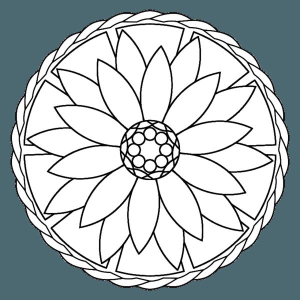 50 Imágenes De Mandalas Para Colorear E Imprimir Con Dibujos