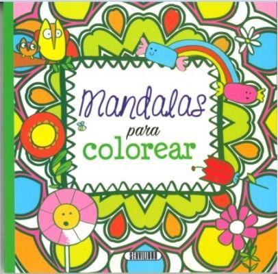Mandalas Para Colorear (4 Títulos)