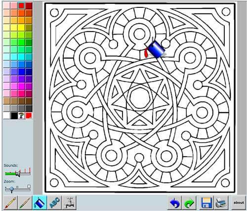 Mandalas Para Colorear