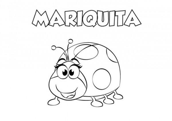 Colorear Dibujo Mariquita Para Imprimir ⋆ Colorear E Imprimir