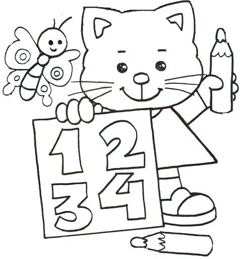 Dibujos Para Colorear De Matematicas Primaria