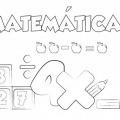 Dibujos Para Colorear Matematicas Primaria