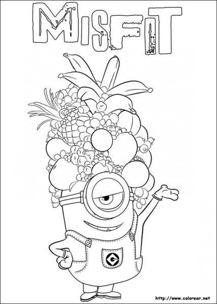 56 Dibujos De Minions Para Descargar Gratis, Imprimir Y Pintar