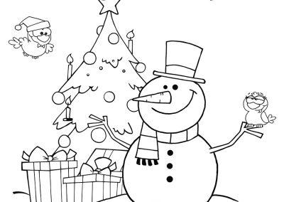 ImÁgenes De Navidad Para Colorear, Dibujos Bonitos
