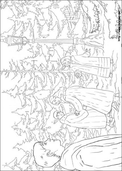 Dibujos Para Colorear De Las Crónicas De Narnia