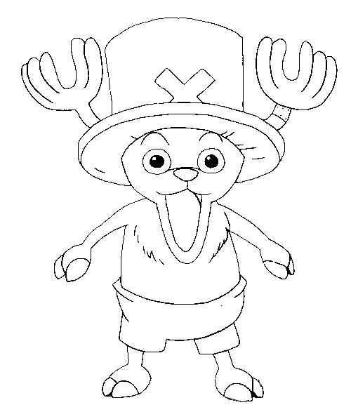 Dibujo Para Colorear One Piece 7