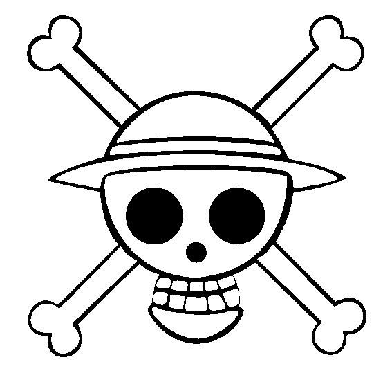 Dibujo Para Colorear One Piece 9