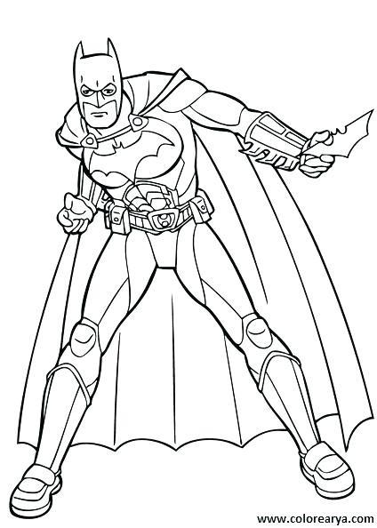 Dibujos Para Colorear La Liga De La Justicia