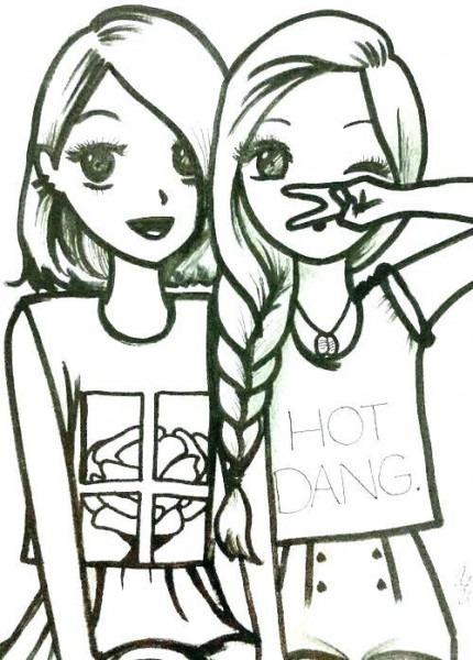 Dibujos De Chicas Guapas Para Colorear