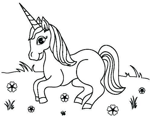 Dibujos Kawaii De Unicornios Para Imprimir