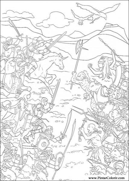 Dibujos Para Pintar & Colour Las Crónicas De Narnia