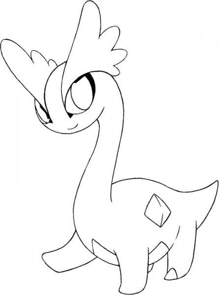 Dibujo Para Colorear Pokemon X Y  1