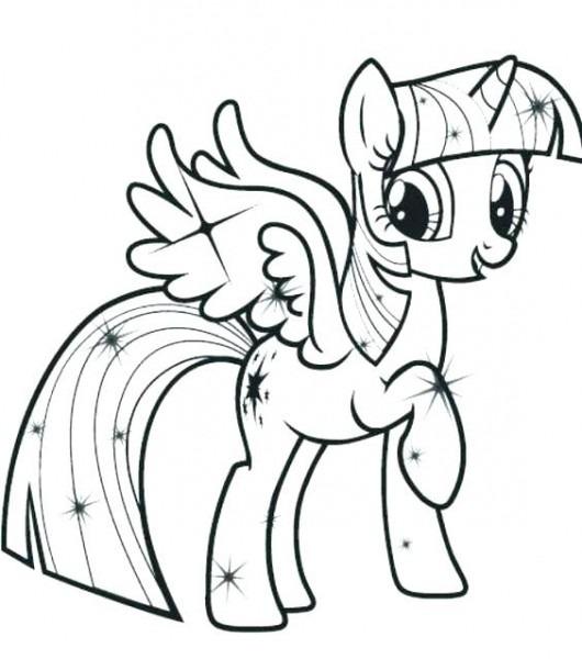 Dibujos De Little Pony Para Colorear