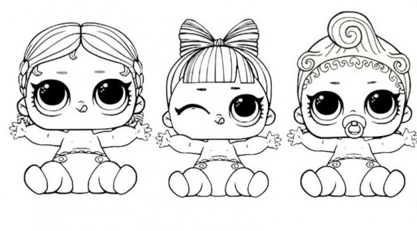 Lol Surprise Doll Para Colorear  Â¡imprime Gratis! Toda La Serie