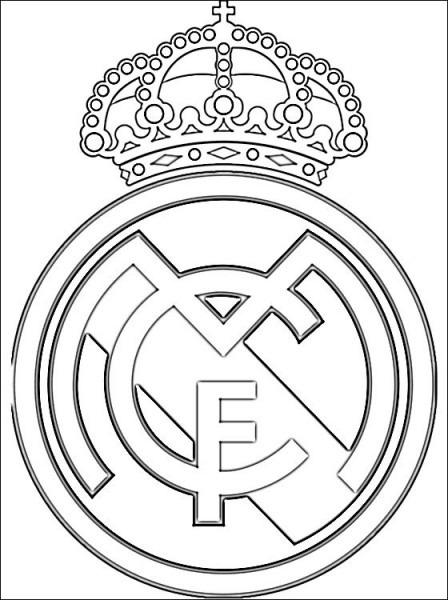 Escudo Real Madrid Club De Fútbol