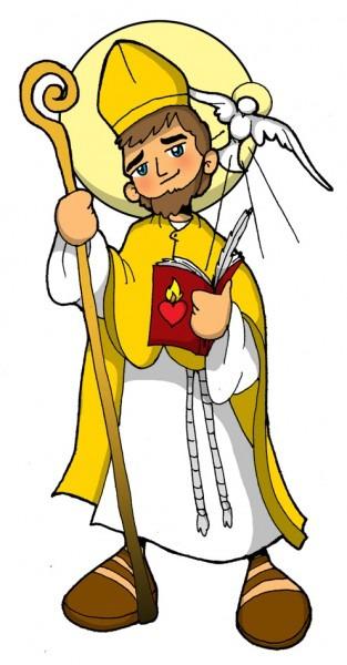 Dibujos Para Catequesis  San AgustÍn De Hipona