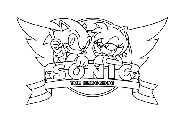 Como Dibujar A Sonic Y Amy