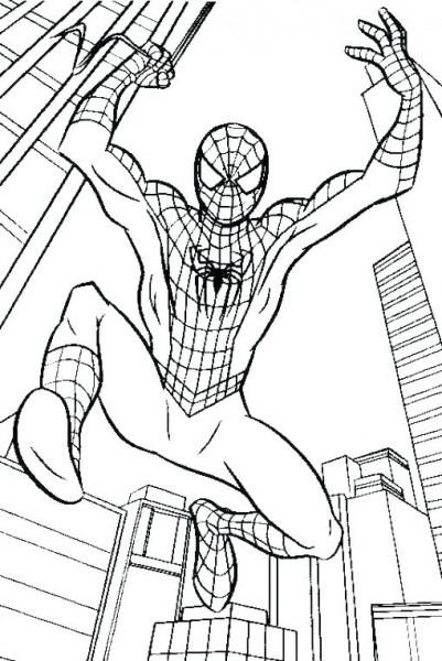 Spiderman Pics To Color – Johnsimpkins Com