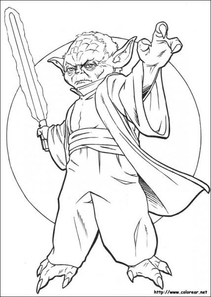 Dibujos De Star Wars Para Colorear En Colorear Net