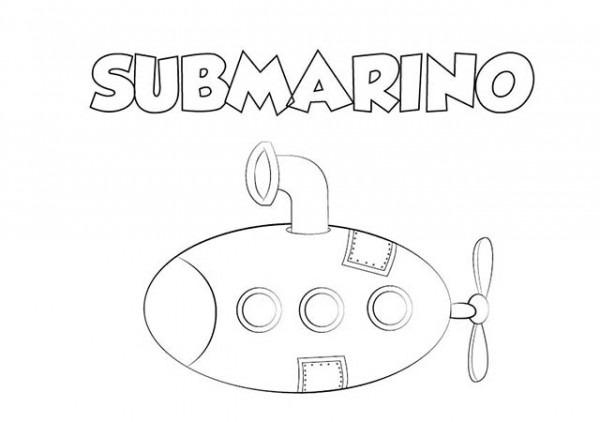 Colorear Dibujo Submarino Para Imprimir ⋆ Colorear E Imprimir