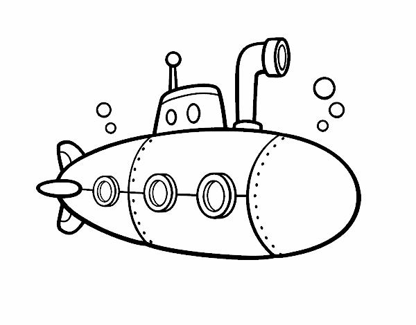 Dibujo De Submarino Espía Pintado Por En Dibujos Net El Día 25