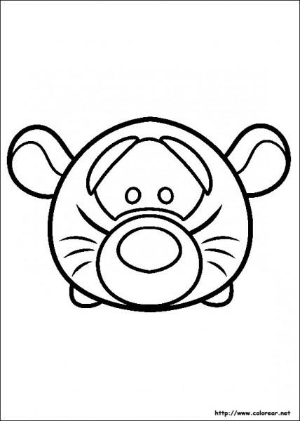 Dibujos De Tsum Tsum Para Colorear En Colorear Net