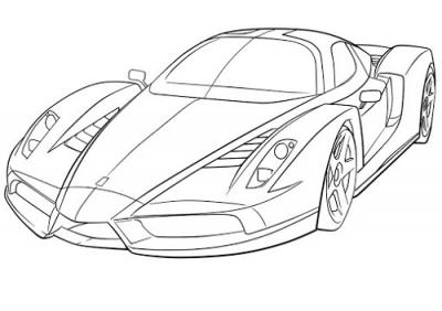 Carros Deportivos Para Dibujar Faciles