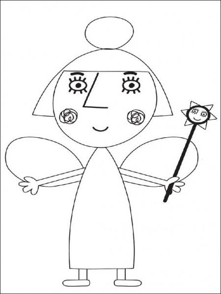 Dibujos Faciles Para Imprimir El Pequeño Reino De Ben Y Holly 10
