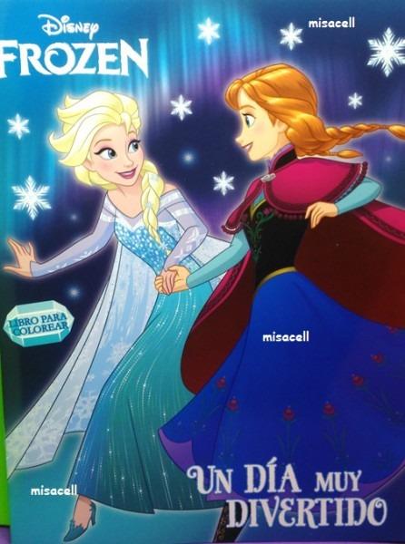 10 Libro Para Colorear Frozen Recuerdos De Fiesta  )