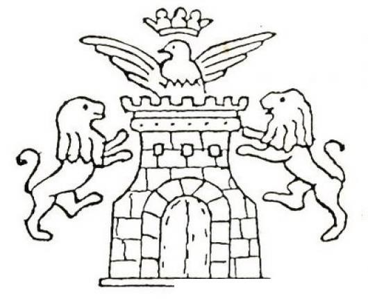Escudo Heraldico De La Villa De Tobarra Para Pintar Y Colorear